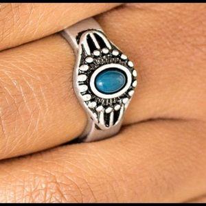 Dainty Blue Ring